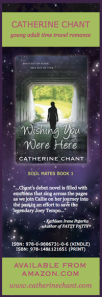 Wishing You Were Here by Catherine Chant, bookmark