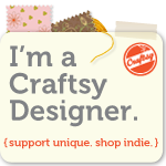 Craftsy Designer Badge