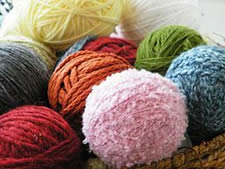 Balls of Colored Yarn