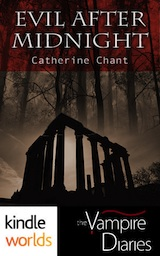 The Vampire Diaries: Evil After Midnight by Catherine Chant Book Cover