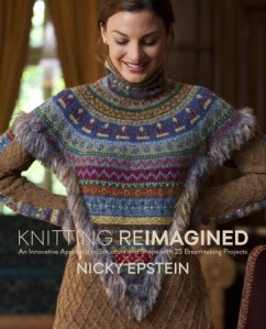 Book Cover: Knitting Reimagined by Nicky Epstein