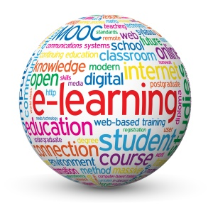 e-Learning Tag Cloud Globe