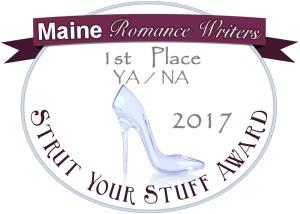 Strut Your Stuff Judge's Choice 1st Place Award YA/NA Badge