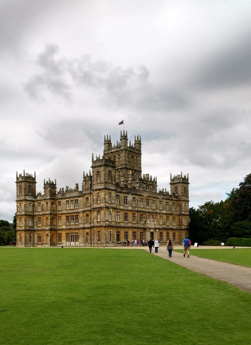 Highclere Castle front