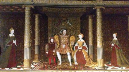 Portrait of King Henry VIII and his family, Hampton Court