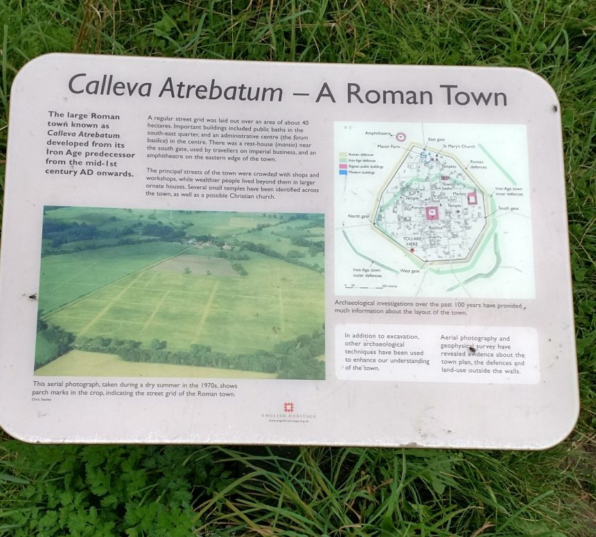 Silchester Romance Town Sign