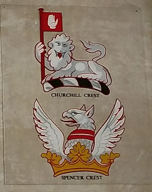 Family Crests for Churchill and Spencer