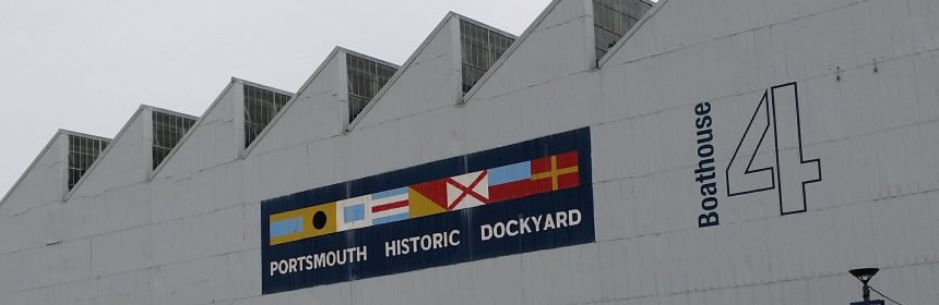 Portsmouth Historic Dockyard sign