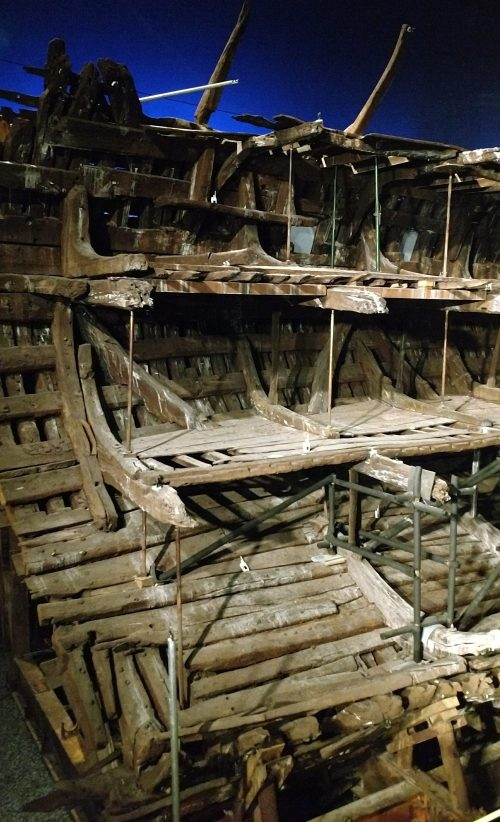 Remains of the Mary Rose