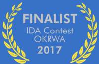 Finalist Badge, OKRWA 2017 IDA Awards