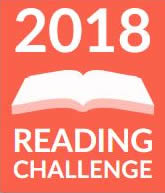 Goodreads Reading Challenge 2018 badge