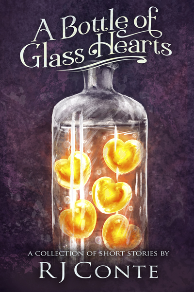 A Book of Glass Hearts by R J Conte boo cover