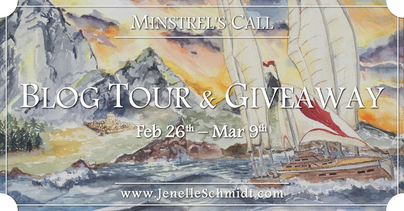 New YA Release: Minstrel's Call by Jenelle Schmidt Banner