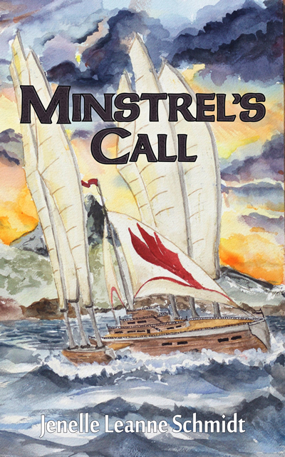 New YA Release: Minstrel's Call by Jenelle Schmidt Book Cover