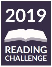 Goodreads Reading Challenge 2019 badge